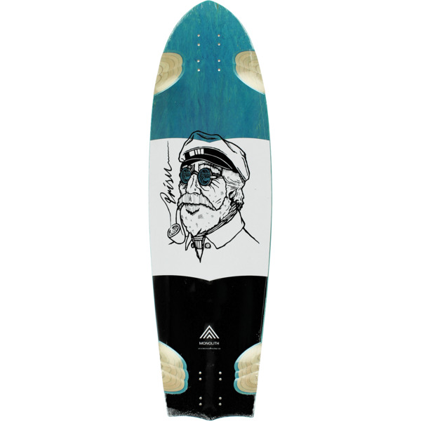 "Prism Skate Core Monolith Longboard Skateboard Deck - 10"" x 34.75"""