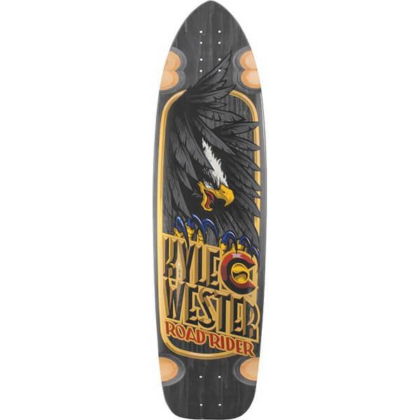 "Road Rider Wester Born Free Longboard Skateboard Deck - 10.1"" x 37.16"""