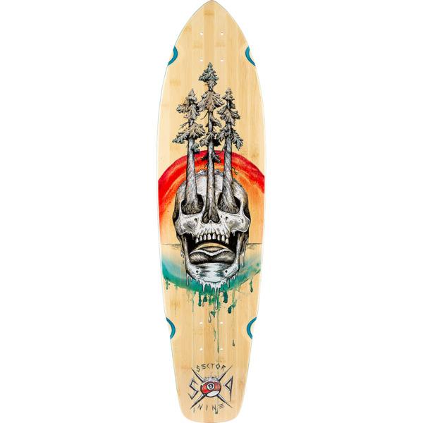 """Sector 9 Bamboo Danger Ft Point Cruiser Skateboard Deck - 8.7"""" x 34"""""""