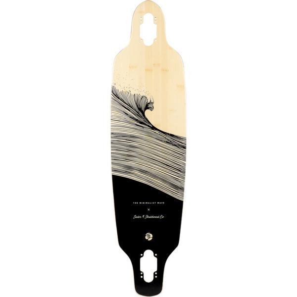 "Sector 9 Bamboo Shacked Shoots Longboard Skateboard Deck - 8.75"" x 33.5"""