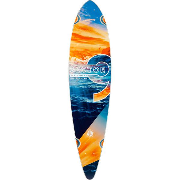 "Sector 9 Reflection Ripple Longboard Skateboard Deck - 8.62"" x 36"""