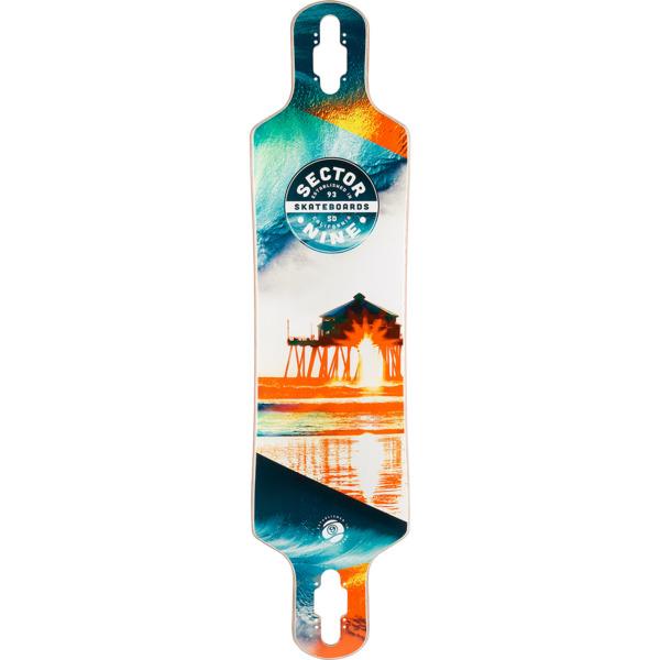 """Sector 9 Specter Bintang Longboard Skateboard Deck - 9.25"""" x 38"""""""