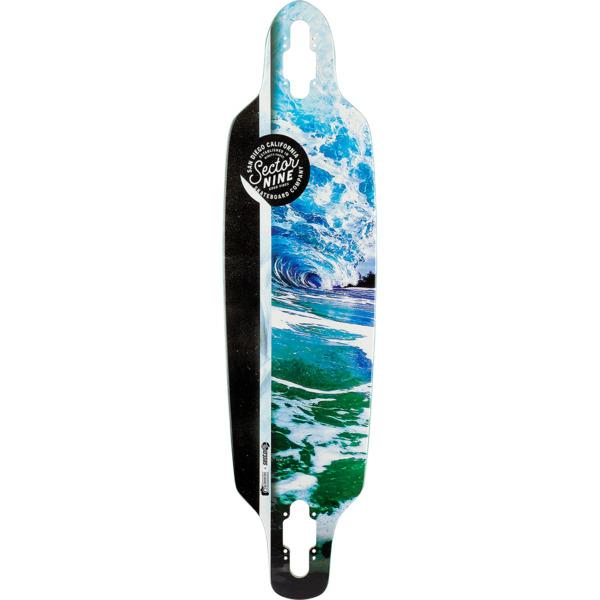 """Sector 9 Flux Fractal Longboard Skateboard Deck - 8.75"""" x 34"""""""