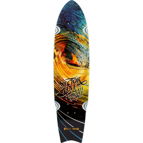 """Sector 9 Nectar Unagi Sidewinder Longboard Skateboard Deck - 8.75"""" x 34.5"""""""