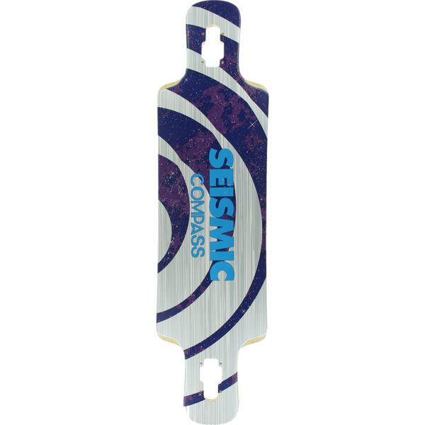 "Seismic Skate Systems Compass Longboard Skateboard Deck - 9.25"" x 36"""