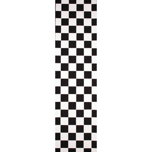"Black Widow Checker Griptape - 9"" x 33"""