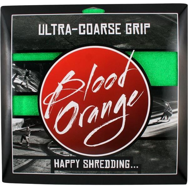 """Blood Orange X-Coarse Neon Green -4 pieces - 10"""" x 11"""""""