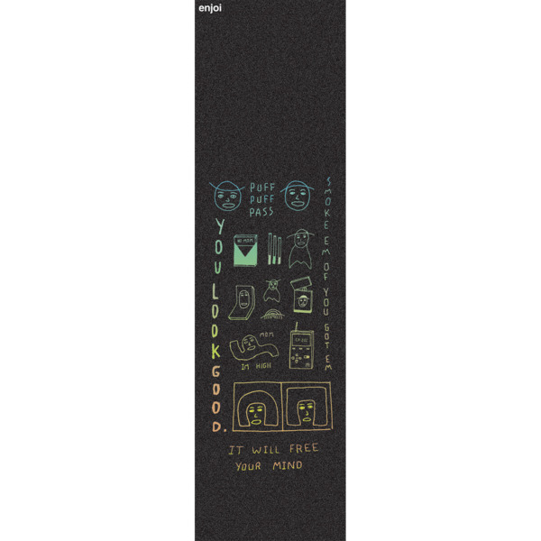 "Enjoi Skateboards You Look Good Griptape - 9"" x 33"""