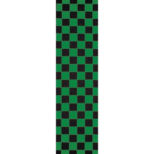 """FKD Bearings Checkered Green / Black Griptape - 9"""" x 33"""""""