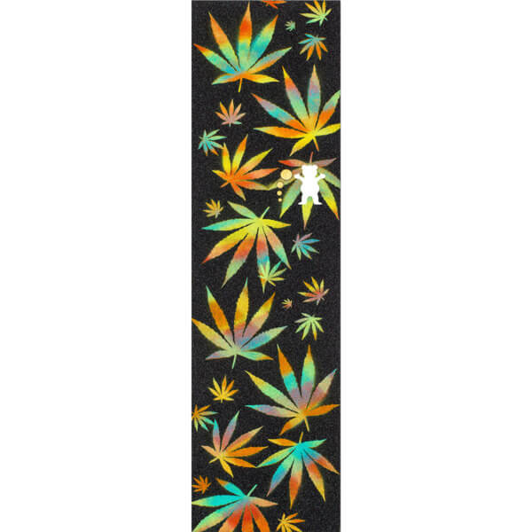 "Grizzly Grip Tape Idea Cannabis Griptape - 9"" x 33"""