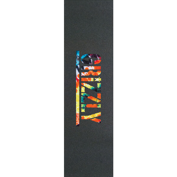 Grizzly Stamp Print Grip Tape