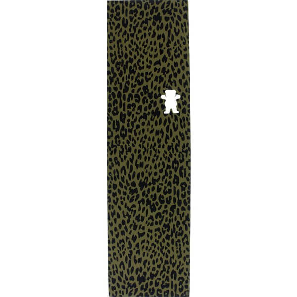 "Grizzly Grip Tape Eli Reed Cheetah Griptape - 9"" x 33"""