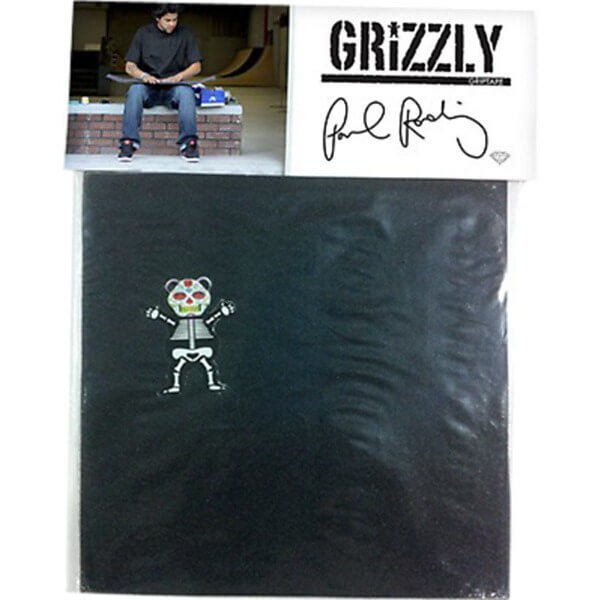 "Grizzly Grip Tape P-Rod Signature Griptape 4 Pre-Cut Squares - 9"" x 33"""
