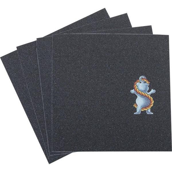 "Grizzly Grip Tape Ryan Sheckler Signature Griptape 4 Pre-Cut Squares - 9"" x 33"""