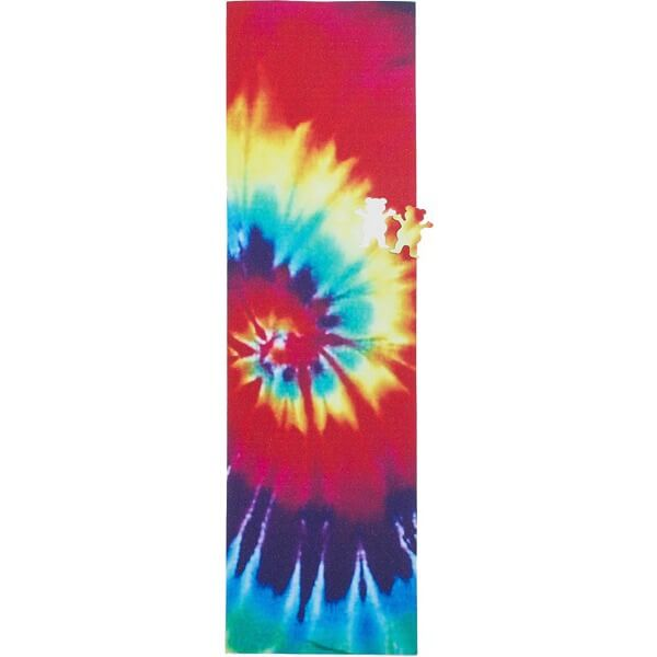 "Grizzly Grip Tape Tie Dye Stamp Print Griptape - 9"" x 33"""