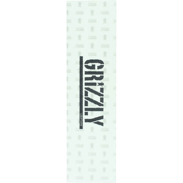 "Grizzly Grip Tape Stamp Clear Griptape - 9"" x 33"""