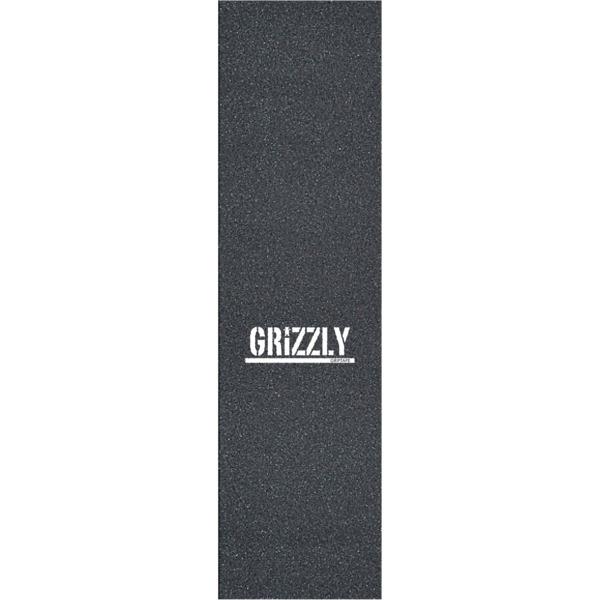 "Grizzly Grip Tape Tramp Stamp Black Griptape - 9"" x 33"""