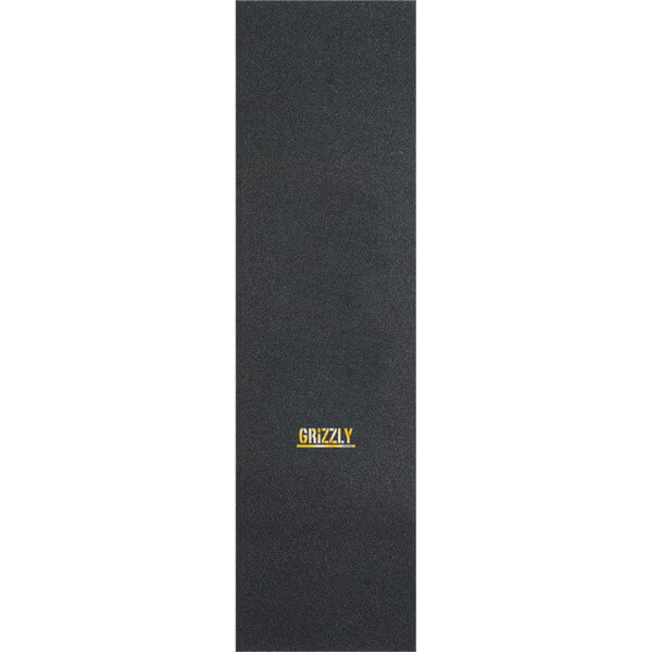 "Grizzly Grip Tape Mini Stamp Black / Gold Griptape - 9"" x 33"""