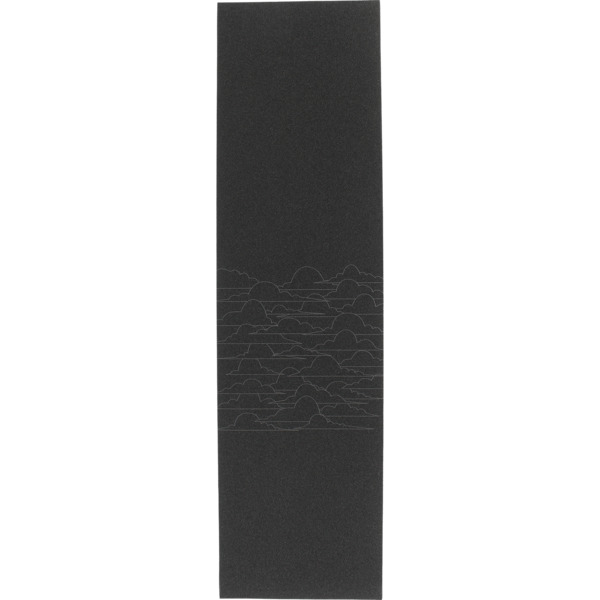 "Jessup Ultra Black Partly Cloudy Griptape - 9"" x 33"""