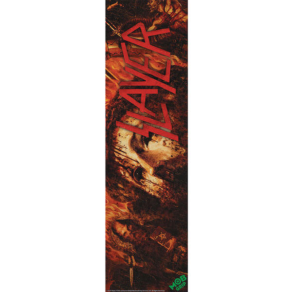 "Mob Grip Slayer Repentless Griptape - 9"" x 33"""