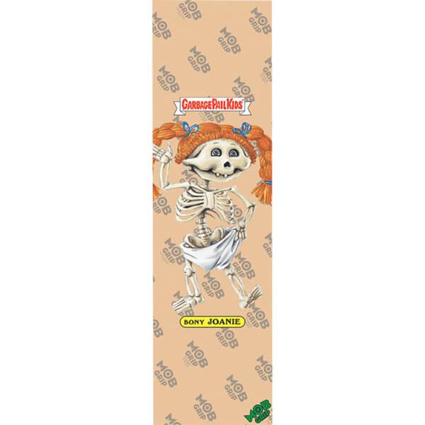 """Mob Grip Garbage Pail Kids Bony Joanie Clear Griptape - 9"""" x 33"""""""