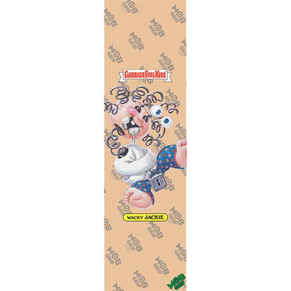 "Mob Grip Garbage Pail Kids Wacky Jackie Clear Griptape - 9"" x 33"""