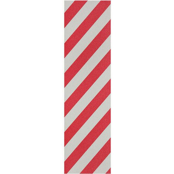 9f3f87877d98 Pimp Grip Tape Alert Red   White Griptape - 9 x 33 - Warehouse Skateboards