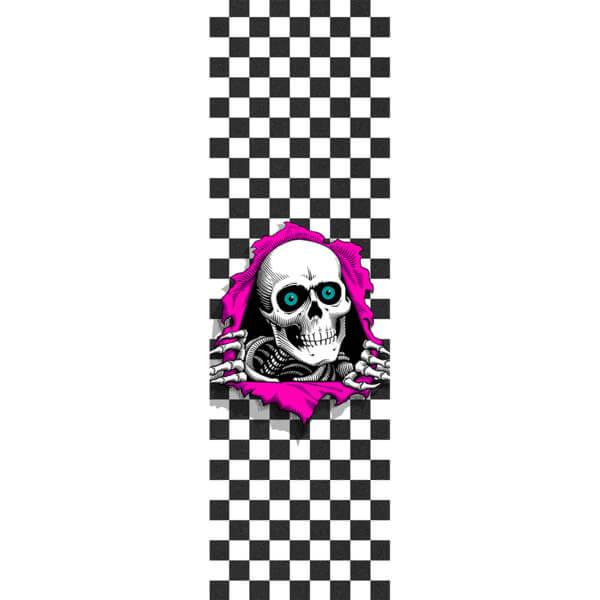 "Powell Peralta Ripper Checker Griptape - 9"" x 33"""
