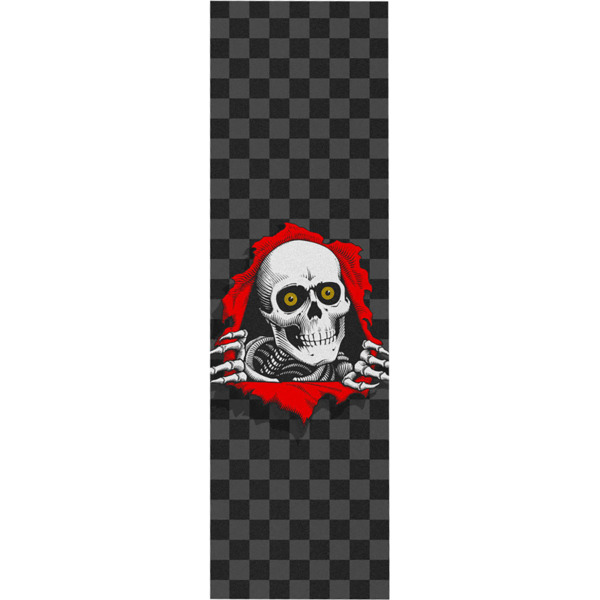 "Powell Peralta Ripper Checker Griptape - 9"" x 33"""