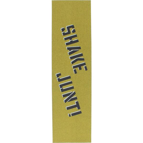 "Shake Junt Colored Gold / Black / White Griptape - 9"" x 33"""