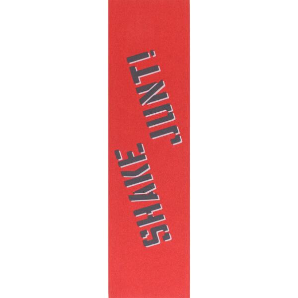 "Shake Junt Colored Red / Black / White Griptape - 9"" x 33"""