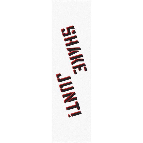 "Shake Junt Colored White / Black / Red Griptape - 9"" x 33"""