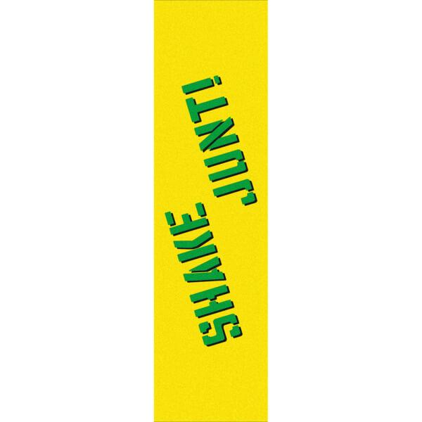 "Shake Junt Yellow / Green Griptape - 9"" x 33"""