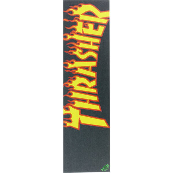 Thrasher Magazine MOB Flame Griptape - 9 x 33 - Warehouse