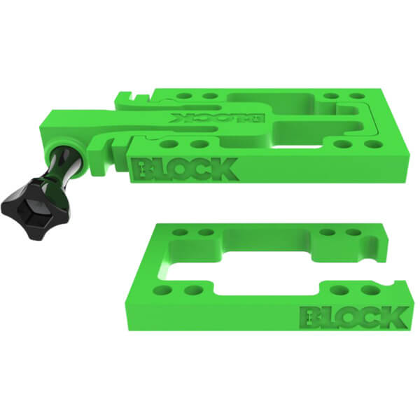 Block Risers GoBLOCK Green Riser Kit - GoPro Mount & Universal Risers