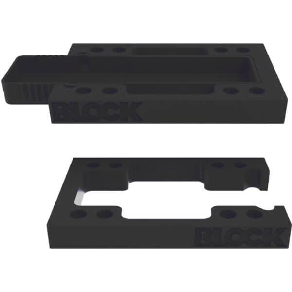 Block Risers StashBLOCK Black Riser Kit