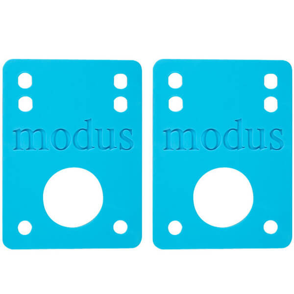 Modus Bearings Blue Riser Pads - Set of Two (2) - 1/8""