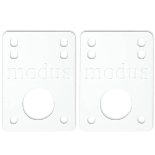 "Modus Bearings White Riser Pads - Set of Two (2) - 1/8"""