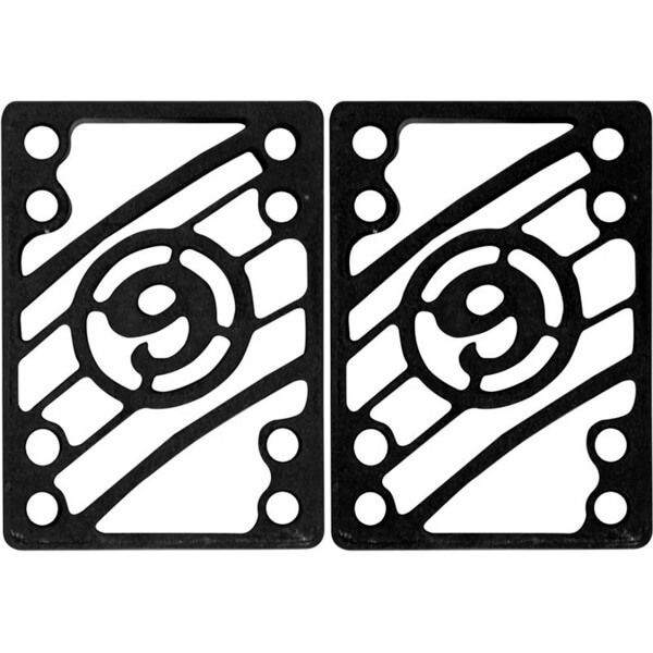 """Sector 9 Black Shock Pads - Set of Two (2) - 1/8"""""""