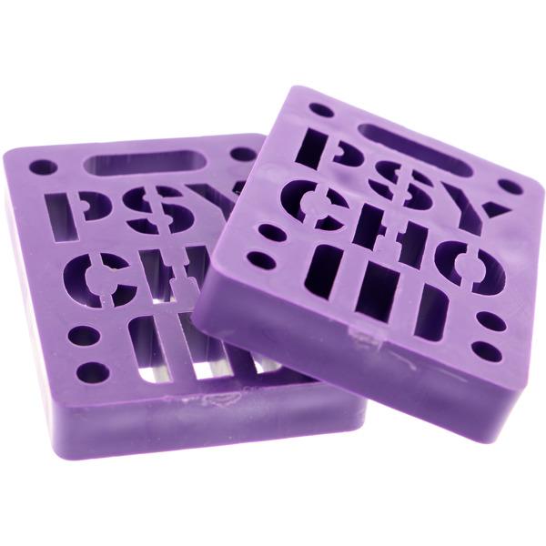 "Vision Skateboards Psycho Soft Purple Skateboard Shock Pad - Set of Two (2) - 1/2"""