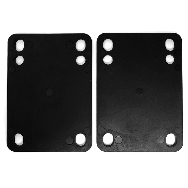 Standard Black Riser Pads - Set of Two (2) - 1/8""