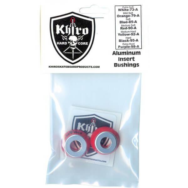 Khiro Aluminum Insert Medium Soft Bushings