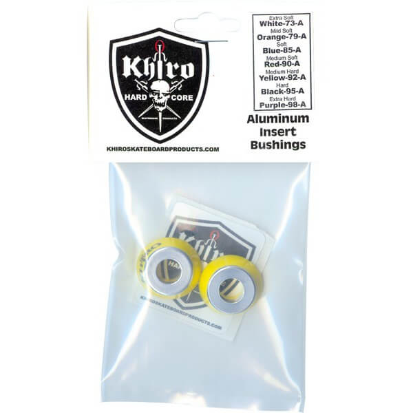 Khiro Aluminum Insert Medium Hard Bushings