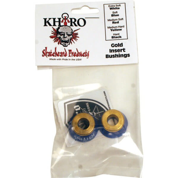Khiro Gold Insert Soft Bushings