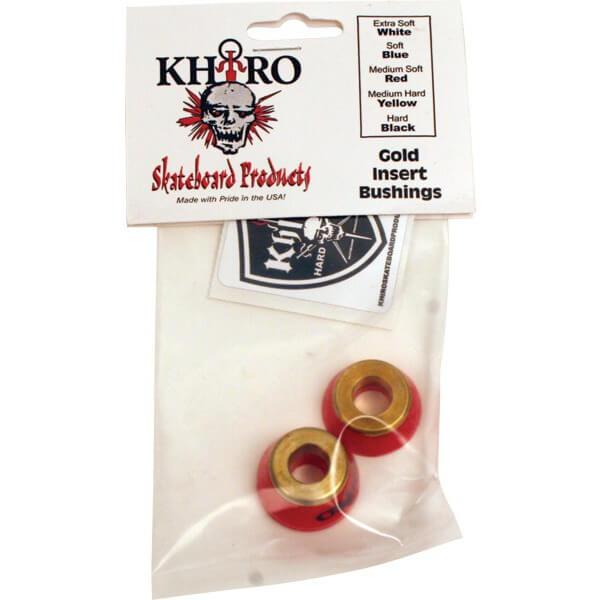 Khiro Gold Insert Medium Soft Bushings