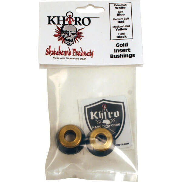 Khiro Gold Insert Hard Bushings