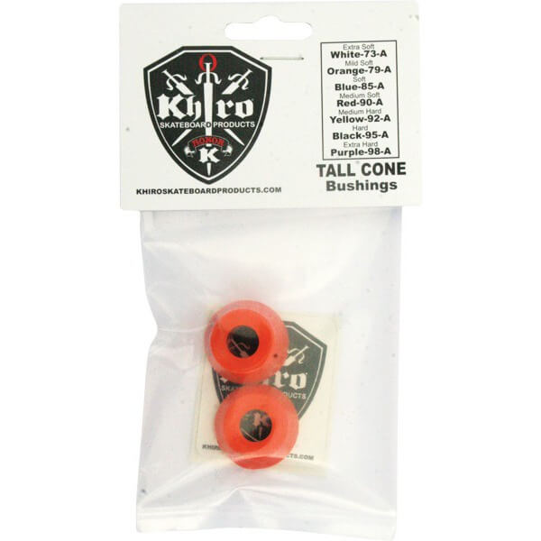 Khiro Tall Cone Mid Soft Bushings