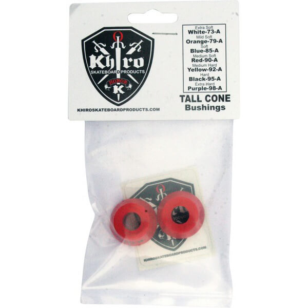 Khiro Tall Cone Medium Soft Bushings