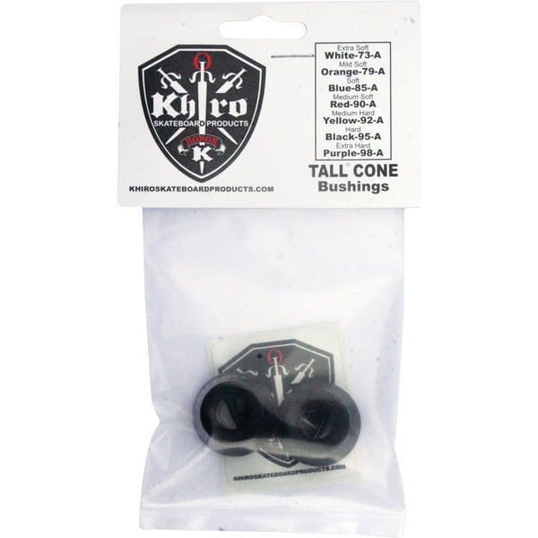 Khiro Tall Cone Hard Bushings