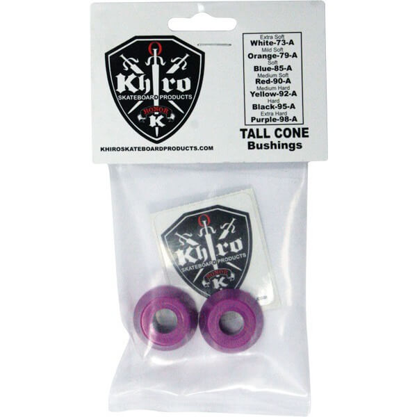 Khiro Tall Cone Extra Hard Bushings